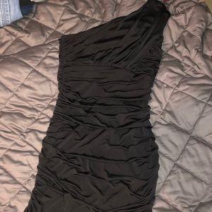 Sleek sexy little black dress
